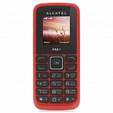 Alcatel OT1010D Red